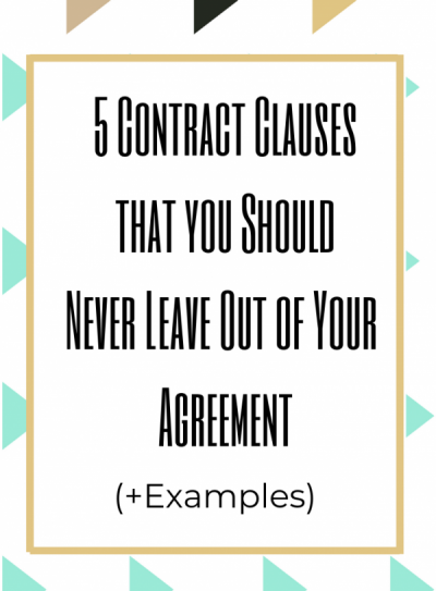 standard-contract-clause