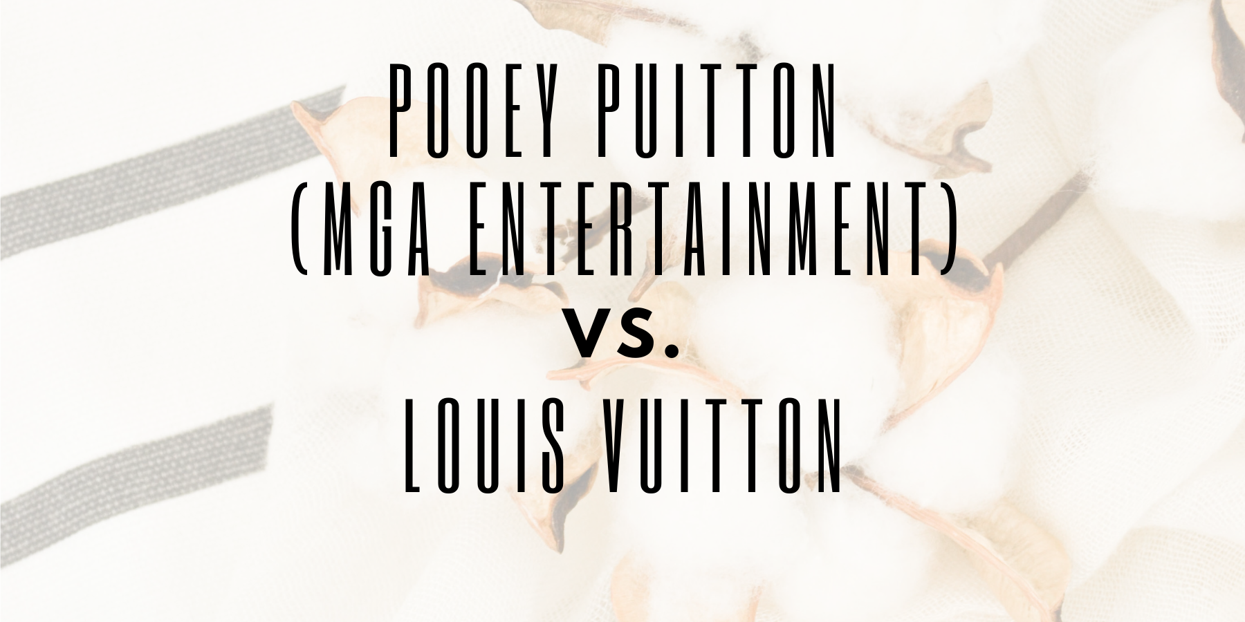 """Pooey Puitton"" creator preemptively sues Louis Vuitton"
