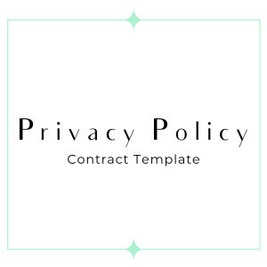 privacy policy GDPR friendly