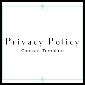 privacy policy GDPR friendly